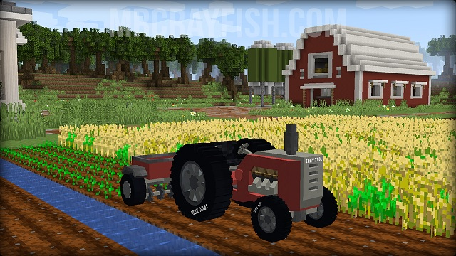 Vehicle Mod for Minecraft