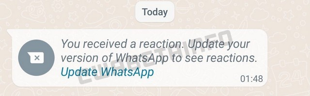 You Might Be Able to React to WhatsApp Messages with Emojis Soon