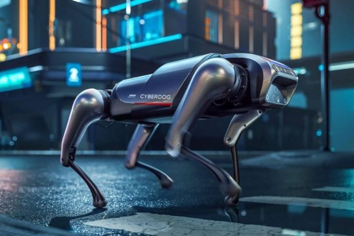 Xiaomi Made a CyberDog Robot Inspired by Boston Dynamics' Spot