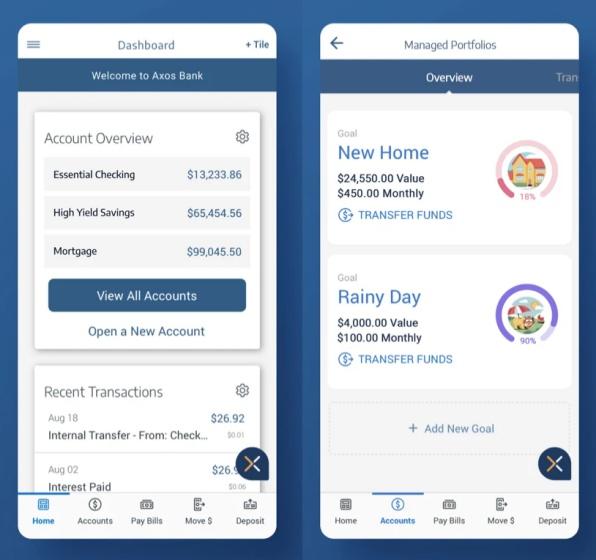axos bank app - dave alternative