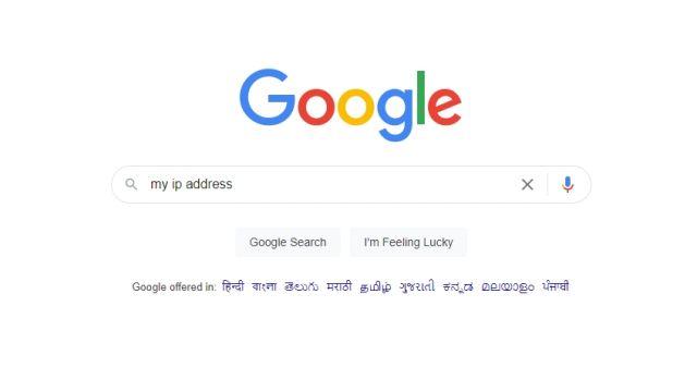 my ip address google