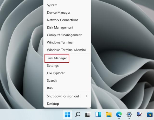 find ip address in windows 11 - task manager - 1