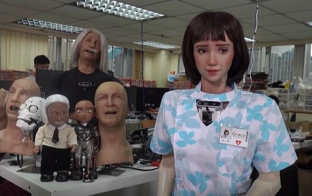 Hanson Robotics' New Humanoid Robot Is Designed to Help Doctors, Patients Fight COVID-19
