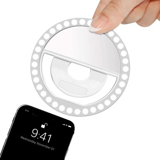 iphone 12 клипса переносной кольцевой светильник