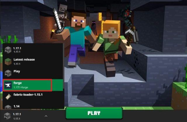 lancer Minecraft Forge