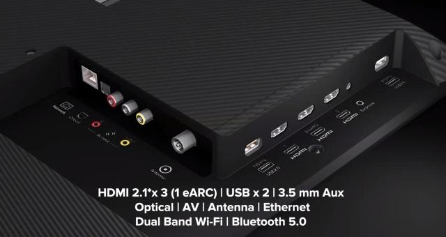 mi tv 5x ports