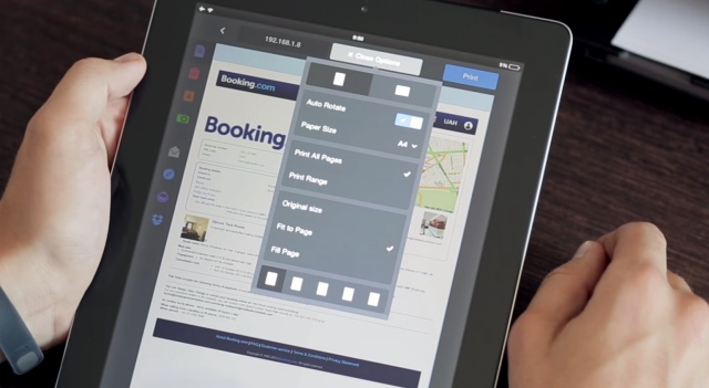 printer pro by readdle - print from ipad
