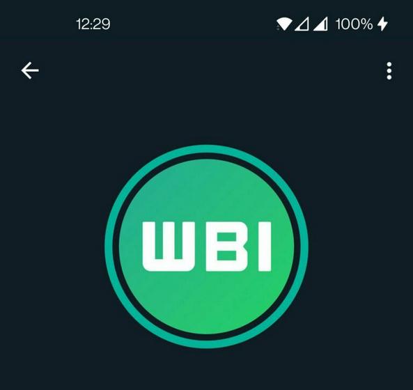 whatsapp green ring