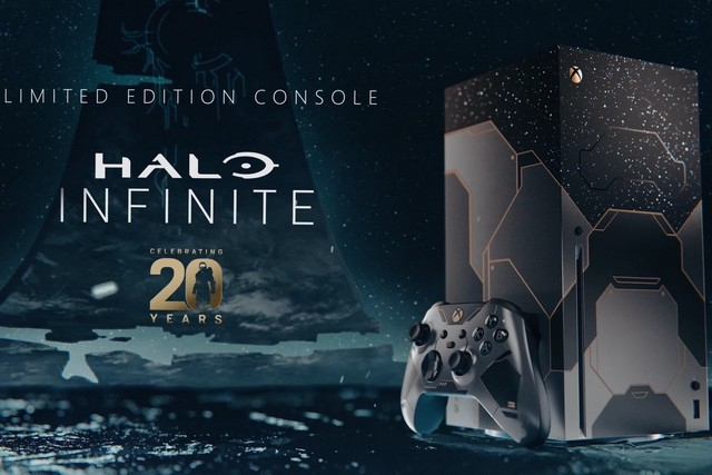 Check out the Limited Edition Halo-Themed Xbox Series X That Microsoft Just Announced
