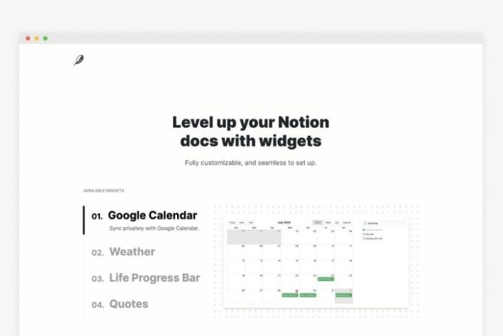 16 Best Notion Widgets You Should Try in 2021