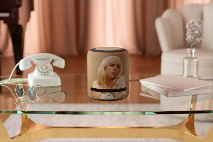 Amazon's Latest Limited-Edition Echo Studio Comes with Billie Eilish's Face Imprinted on It
