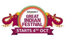 Amazon Great Indian Festival 2021 Starts on October 4