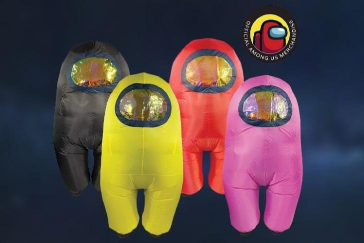 Check out These Cool Among Us Spaceman Costumes!
