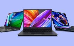 Asus ProArt Studiobook, Vivobook, and Zenbook laptops for creators launched in India
