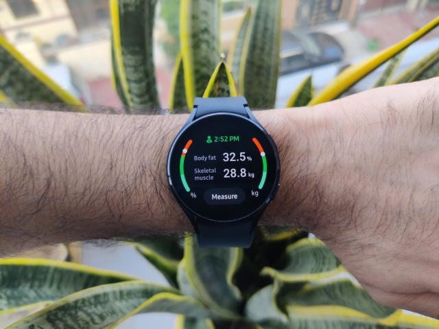 Samsung Galaxy Watch 4 BIA sensor