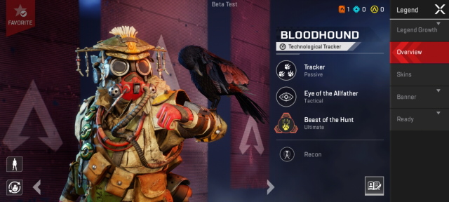 Apex legends mobile characters