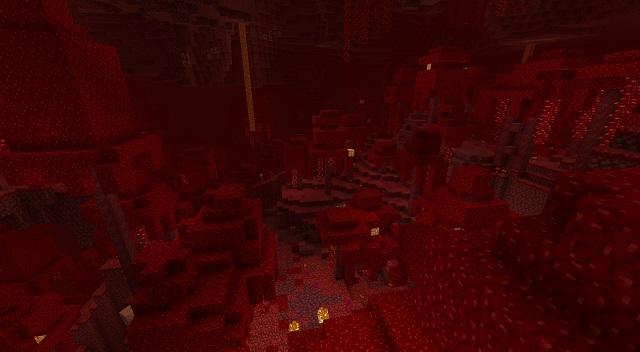 Crimson Forest Biome in Minecraft