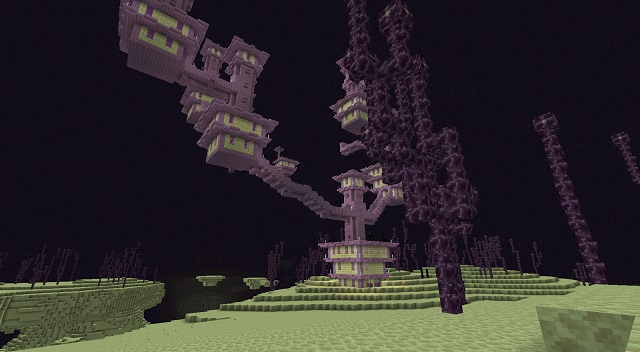 End Highlands End City Minecraft