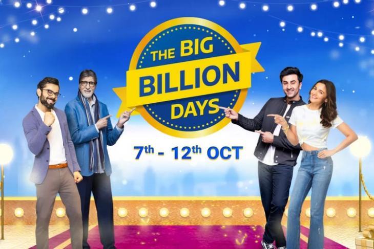 Flipkart's Annual Big Billion Days 2021 Sale Event Will Go Live on October 7