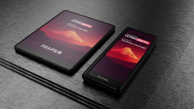 Fujifilm Has Designed a Foldable Smartphone with Stylus Support,