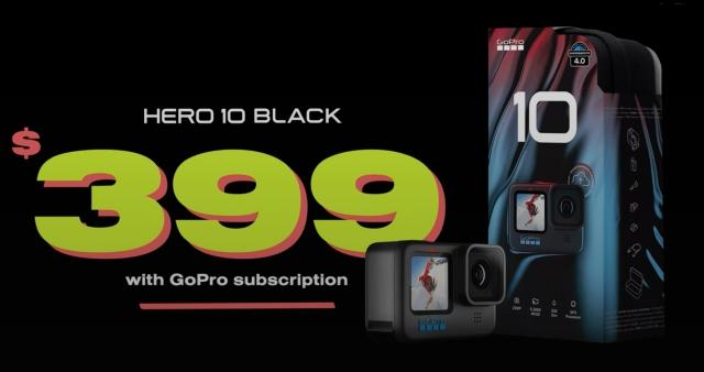 GoPro Hero 10 Black price