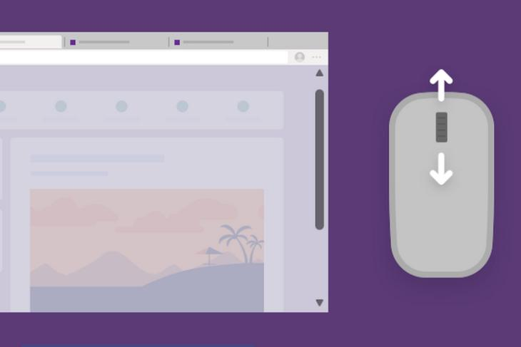 How to Get Overlay Scrollbar in Microsoft Edge