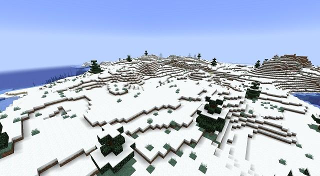 Minecraft Snowy Thundra Biome