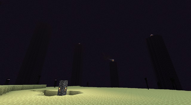 Minecraft The End Biome