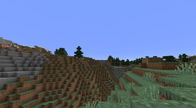 Mountains Biome MC