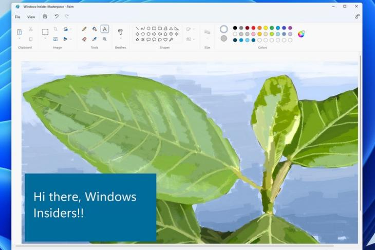 Microsoft Starts Rolling out the Revamped Windows 11 Paint App for Windows Insiders