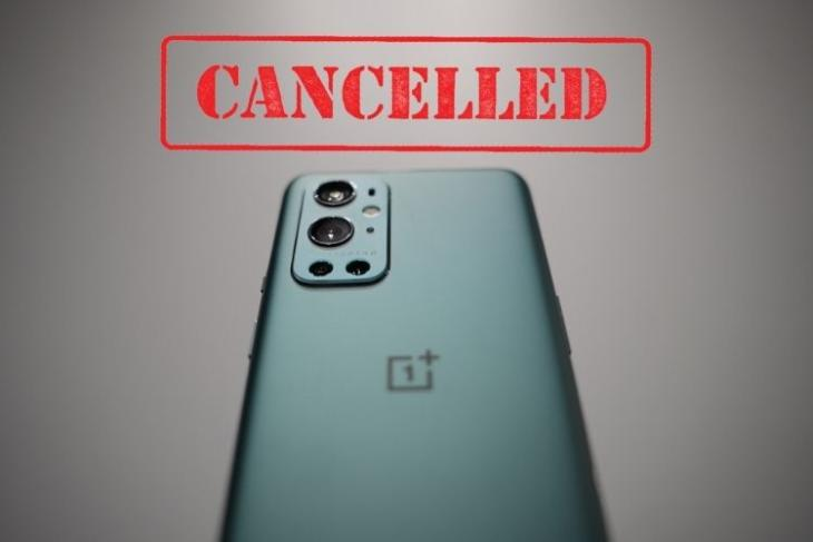 OnePlus 9T series launch canceled this year