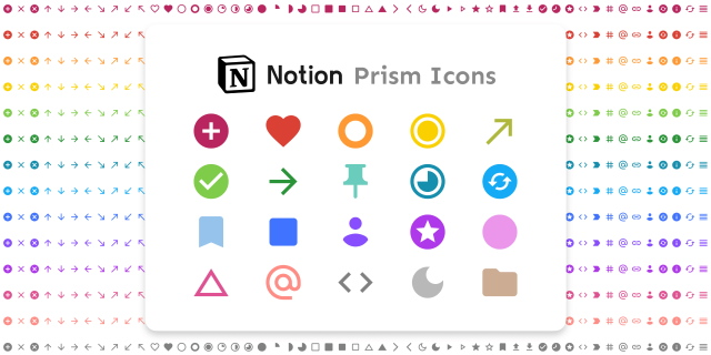 Notion icon pack