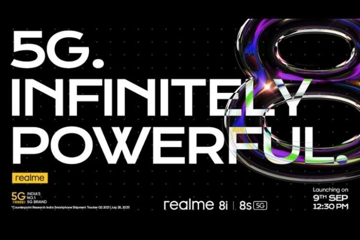 Realme to Launch the First Dimensity 810-Powered Smartphone in India on September 9