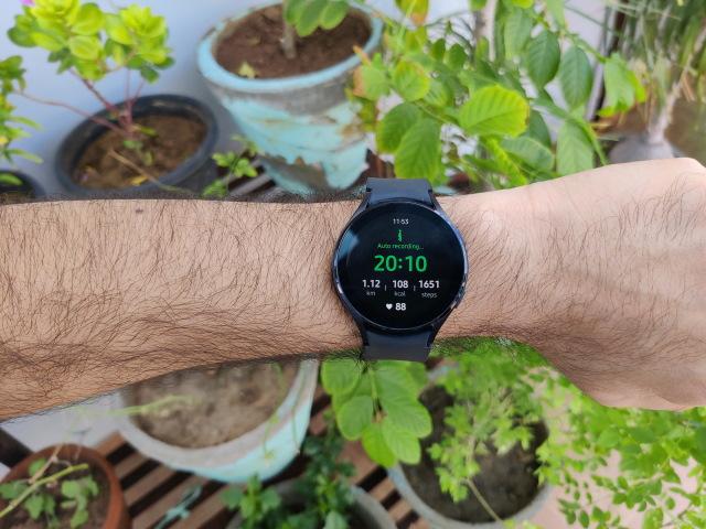 Samsung Galaxy Watch 4 auto recording