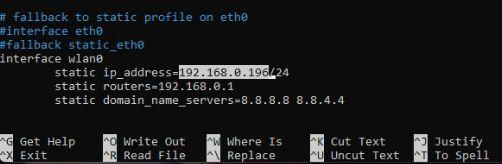Как установить статический IP-адрес на Raspberry Pi