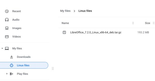 How to Install a tar.gz File on Your Chromebook
