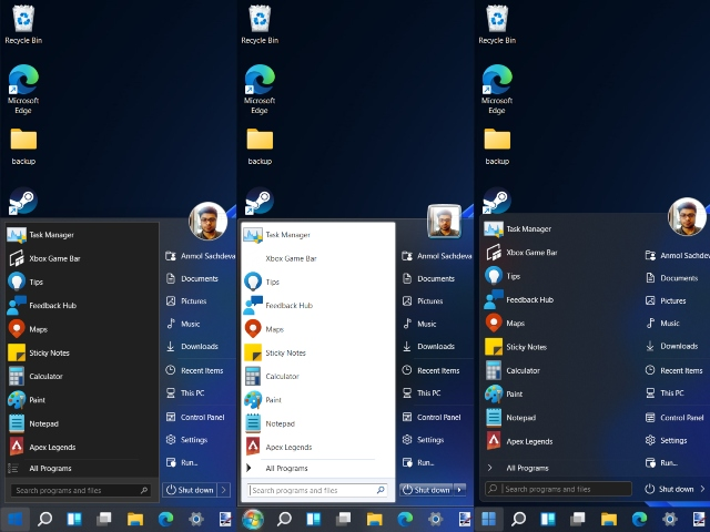 This Nifty App Adds Windows 7 and Windows 10 Start Menu Back to Windows 11