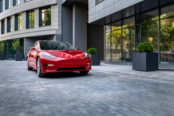 Tesla Model 3 Spotted in Indian Ministry Office Ahead of Potential Launch
