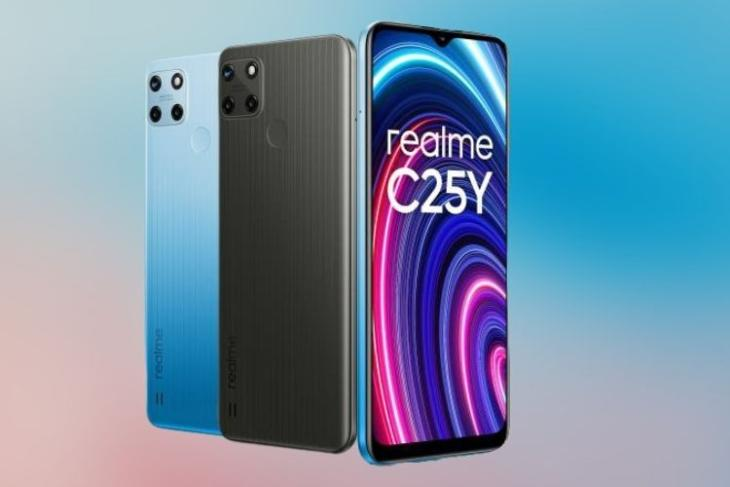 Realme C25Y with Unisoc T610 SoC, 50MP Triple Cameras Launched in India