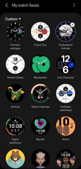 Samsung Galaxy Watch 4 - Watch-Faces-1