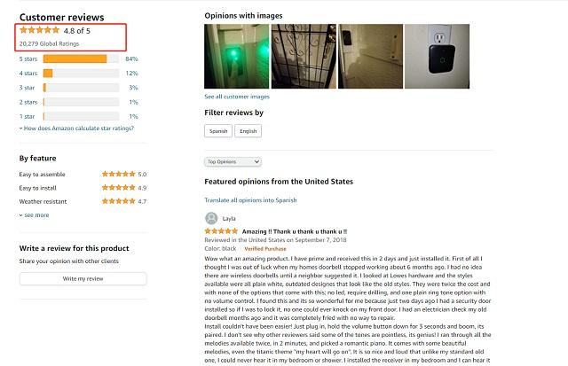 Avantek Mini Waterproof Doorbell Chime: An Easy to Use, Feature Rich Doorbell