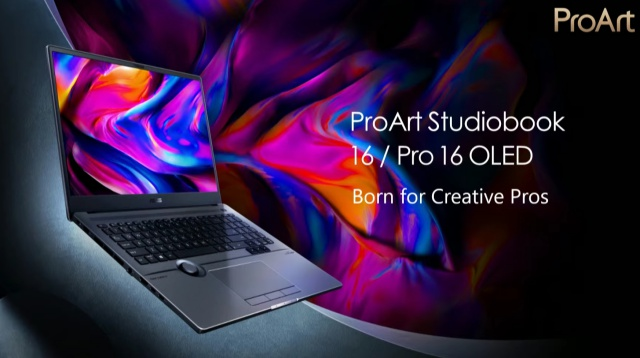 Asus Unveils New ProArt, Vivobook, and Zenbook Laptops with OLED Displays