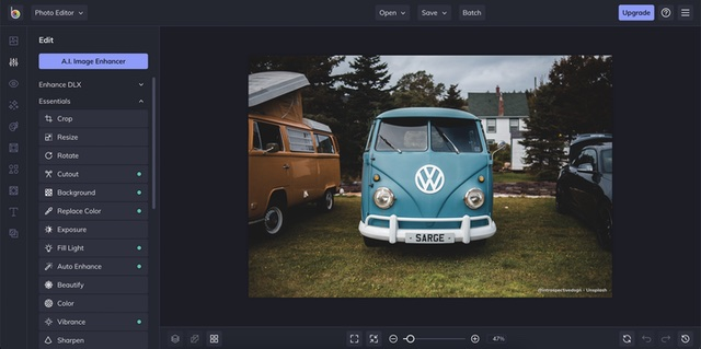 best free photo editing software be funky