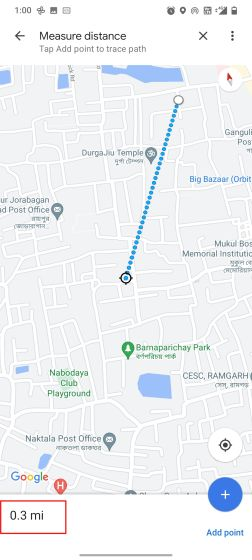 Calculate Distance on Google Maps on Android & iOS