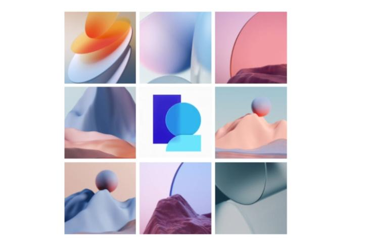 Download ColorOS 12 Wallpapers in its full-resolution