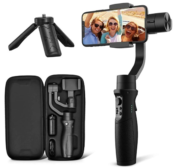 hohem isteady mobile gimbal for iPhone