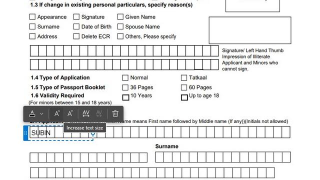 Add Text to PDF Files Edge