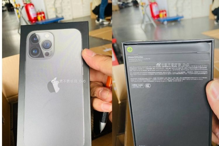 Here's How the iPhone 13 Box Looks Without Plastic Wrap
