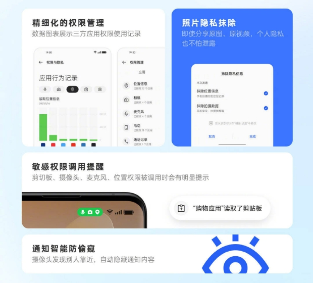 coloros 12 privacy features