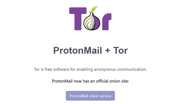 use onion site to avoid ProtonMail IP Logging